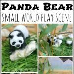 Panda Bear Small World Imaginative Play