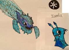 slugterra powerful slugs | Iceelix: enough ice power to freeze an entire cavern lives in frozen ...