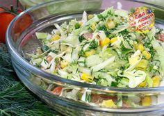 Салат из свежей капусты, по которому мы так скучали!