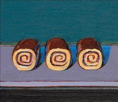 Wayne Thiebaud (b. 1920) | Jelly Rolls (For Morton) | Post-War ......Christie's has the bidding @ $600,000.00