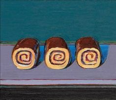 Wayne Thiebaud (b. 1920) | Jelly Rolls (For Morton) | Post-War ......Christie's has the bidding @ $600,000.00