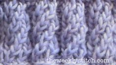 Spiral Rib | The Weekly Stitch