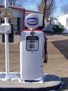 Old Sohio Gasoline Pump, via Flickr.  Need the advise of a Doctor but can't afford or get to one?   Get Benefit Relief Website Address http://www.getbenefitrelief.com/RXN00698