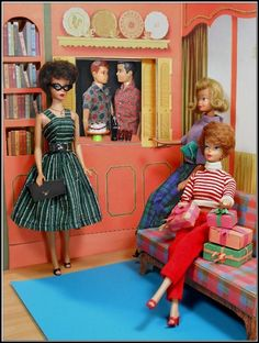 Barbie Wants Cake by Hey Sailor Greetings - The party can't start until the boys find a big candle.