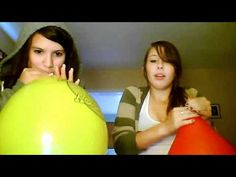 Giant Balloons blow | Blow To Pop Orange Balloon - VidoEmo - Emotional Video Unity