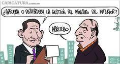 El trazo de Andrés Edery sobre la reaparición de Vladimiro Montesinos.
