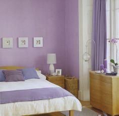 Deko Schlafzimmer Violett