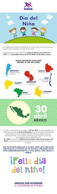 #DíaDelNiño #Mexico #Educación #Infografía