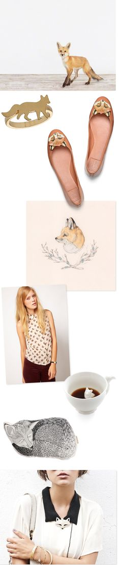 Oh the lovely things... Fox Inspired Collage <3 i adore the ring!