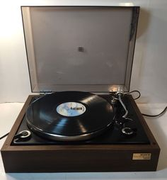 Sony Stereo Turntable Vintage Model PS-1100 Rare Record Player Made In Japan #Sony