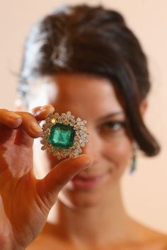 Gina Lollobrigida's Jewelry Collection on Display