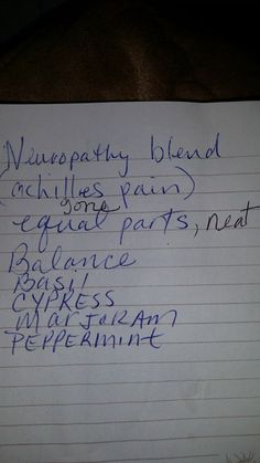 7 Best Doterra Blend Neuropathy Images On Pinterest Doterra