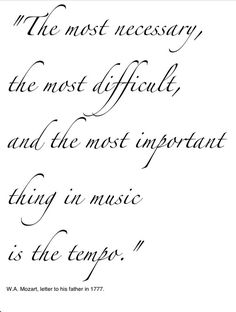 MUSIC- Mozart Quote