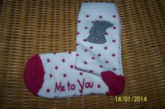 ME TO YOU TATTY TEDDY SOCKS