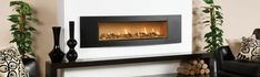 Studio Gas Fires - Built In Fires, Contemporary Fireplaces