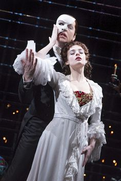 Photo 18 of 44 | Sierra Boggess as Christine in The Phantom of the Opera. Photo by Matthew Murphy | The Phantom of the Opera: Show Photos | Broadway.com