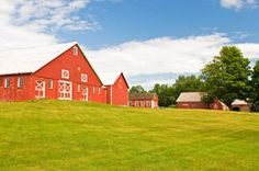 Family Farm and Red barn