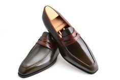#Aubercy - Lupin - Mocassin - Ligne Passion - Prêt à chausser - Ready to wear - Sur commande - Made to order - Veau - Calfskin - #Dapper - #Men - #Shoes