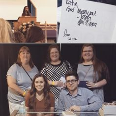 Jessa & Ben meeting lucky fans yesterday at Jessa's conference. So cool 💞😄 Happy Sunday Everyone! Xo