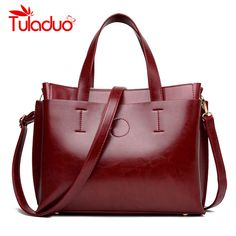 5657ecd7fc4b 2018 Women Bag Handbag Tote Over Shoulder Crossbody Autumn Winter Leather Big  Brand Black Letter Casual