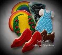 Mago de Oz Cookies por CookieGalMB en Etsy