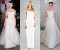 Make celebrities' expert styling work to your advantage - wear a wedding gown inspired by some of our favorite stars.