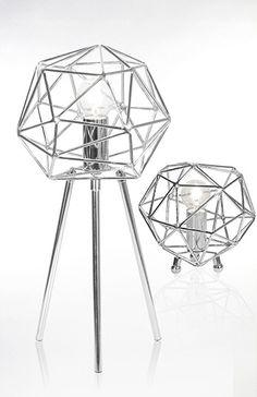 Bordlampe DIAMOND krom