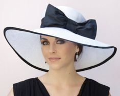 wide brimmed hat womens long dress - Google Search