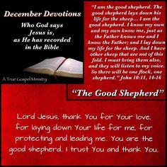 Jesus: The Good Shepherd #atruegospelministry