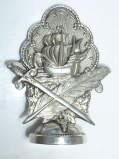 ANTIQUE FRENCH SILVER WAX SEAL