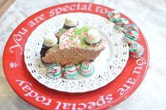 "Chocolate Peppermint ""No Bake"" Pie"