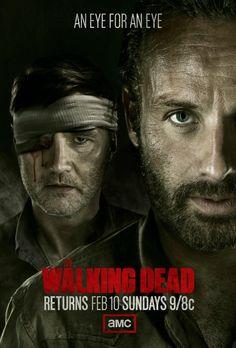 """Un nuevo poster de """"The Walking Dead"""" nos recuerda el regreso de la serie…"""