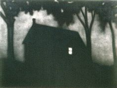 """Ed Ruscha, """"60 Watts"""" [1990]"""