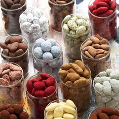 Licorice almonds from Summerbird - Lakridsmandler i store glas, Liquorice er vor mest solgte variant