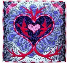 Valentine's Greeting by Jane Sassaman