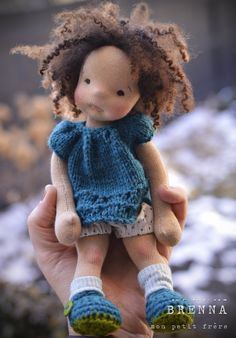 Best 12 Shes short and sweet just like a cupcake, so she is known as my Cupcake doll. She is 10 inches of cuteness. Shes floppy and weighted. Shes the perfect size for a – SkillOfKing. Tiny Dolls, Soft Dolls, Cute Dolls, Fabric Dolls, Paper Dolls, Rag Dolls, Homemade Dolls, Knitted Dolls, Crochet Dolls