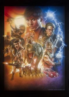 Kung Fury Official Movie Poster by Andreas Bennwik