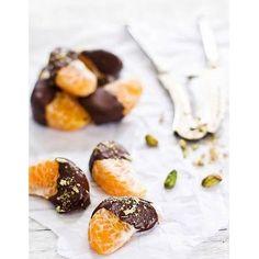 Clementines au chocolat