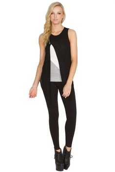 black casual zipper top. Beautiful color block top! Clean and professional!