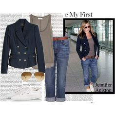 jennifer aniston street style | fashion look from November 2010 featuring Chinti and Parker tops ...