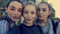 Brynn Rumfallo, Kendall Vertes, and Maddie Ziegler!