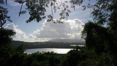 Un poco del Yunque el Corredor y la laguna bioluminiscente desde Las Cabezas de San Juan Fajardo, Clouds, Celestial, Sunset, Outdoor, Saints, Runners, San Juan, Outdoors
