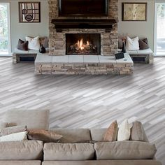 Arizona Tile - extraordinary surfaces throughout your home for commercial and residential tiling flooring, countertops, and backsplashes. Faux Wood Tiles, Wood Tile Floors, Wood Floor, Contemporary Family Rooms, Tile Showroom, Living Room Flooring, Dream Decor, Home Projects, New Homes