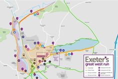 EXETER'S annual Great West Run will be taking place on Sunday October 182 with around 4,000 runners expected to take part. Using the city's streets for the race will cause changes to usual traffic...