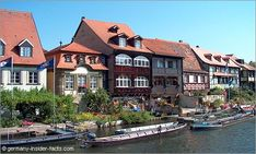 Beautiful Bamberg in Bavaria - Although the scenery is called Little Venice, this is not in Italy.