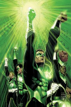 Green Lantern Corps by Ethan Van Sciver