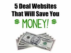 5 Deal Websites That Will Save You Money