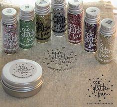 Biodegradable glitter!! Plastic free and kind to Mother Nature Glitter Girl, Mason Jars, Store, Tent, Storage, Mason Jar, Glass Jars, Jars