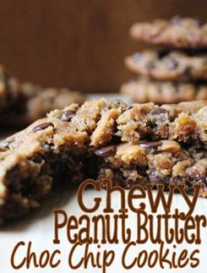 chewy peanut butter
