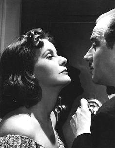Greta Garbo and Melvyn Douglas in Ninotchka (1939).